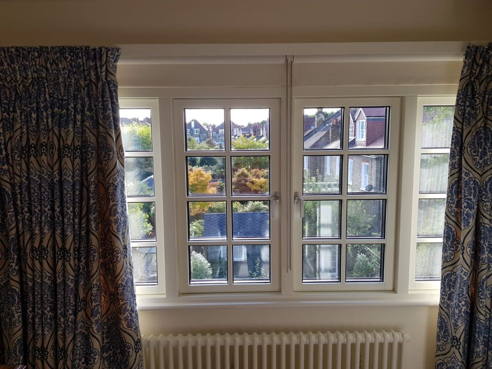 Okna drewniane Sash Windows